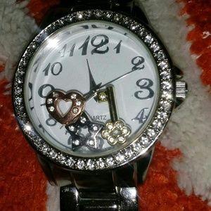 Avon for Paula Abdul Stainless Charm Watch